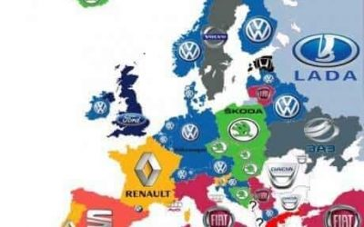 Map: What Cars Do People Drive in Europe?