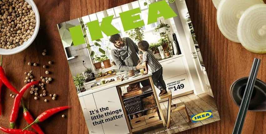 Power of Print. Why catalogue is IKEA's #1 Marketing Tool?